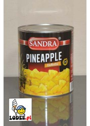 Ananas Kostka 1,84 kg - SANDRA