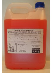 Syrop do granity i shake o smaku grapefruit